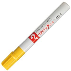 その他 (まとめ) 寺西化学 油性マーカー マジックインキNo.500(細書き用) 黄 M500-T5 1本 【×100セット】 ds-2244669