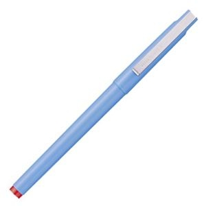 その他 (まとめ) 三菱鉛筆 水性ボールペン ユニボール 0.5mm 赤 UB105.15 1本 【×100セット】 ds-2244736