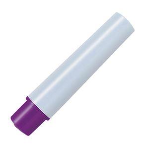その他 (まとめ) ゼブラ 油性マーカー マッキーケア極細 つめ替え用インクカートリッジ 紫 RYYTS5-PU 1パック(2本) 【×100セット】 ds-2244743