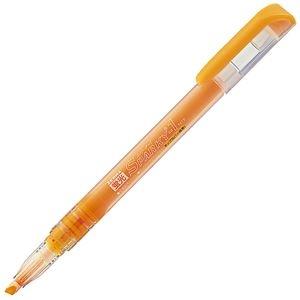 その他 (まとめ) ゼブラ 蛍光スパーキー1 黄橙WKP1-YO 1本 【×100セット】 ds-2244793