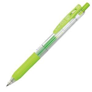 その他 (まとめ) ゼブラ ゲルインクボールペン サラサクリップ 0.5mm ライトグリーン JJ15-LG 1本 【×100セット】 ds-2244968