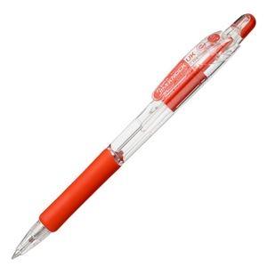 その他 (まとめ) ゼブラ 油性ボールペン ジムノックUK 0.5mm 赤 BNS10-R 1本 【×100セット】 ds-2245078