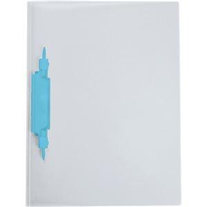 その他 (まとめ) セキセイ レポートファイル(ルララ)A4タテ 2穴 100枚収容 ブルー PAL-80-10 1冊 【×100セット】 ds-2245479