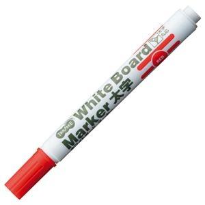 その他 (まとめ) TANOSEE ホワイトボードマーカー 太字丸芯 赤 1本 【×300セット】 ds-2245741