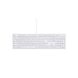 その他 (まとめ) バッファロー USB接続 有線キーボードMacモデル ホワイト BSKBM01WH 1台 【×5セット】 ds-2220376