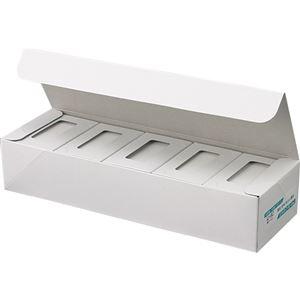 その他 (まとめ) ジャストコーポレーション カラーIJ専用名刺用紙 ナチュラル 厚手 IJ-11C 1セット(1000枚:100枚×10箱) 【×5セット】 ds-2220487