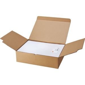 その他 (まとめ) TANOSEE マルチプリンターラベル 業務用パック A4 10面 86.4×50.8mm 四辺余白付 1箱(500シート:100シート×5冊) 【×5セット】 ds-2220558
