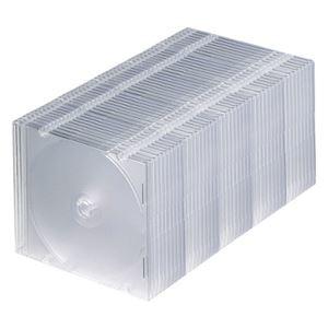 その他 (まとめ) サンワサプライBlu-ray・DVD・CDケース(スリムタイプ) クリア FCD-PU50CLN 1パック(50枚) 【×5セット】 ds-2220684