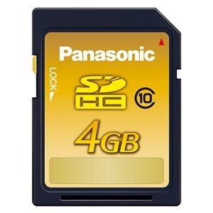 その他 (まとめ) パナソニック SDHCメモリーカード 4GB Class10 RP-SDWA04GJK(1枚) 【×5セット】 ds-2220863