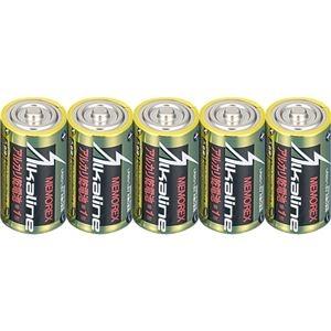その他 (まとめ) メモレックス・テレックス アルカリ乾電池単1形 LR20/1.5V/10S 1セット(30本:10本×3パック) 【×5セット】 ds-2220961