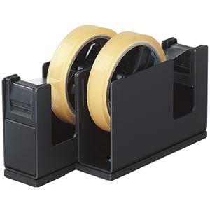 その他 (まとめ) コクヨ テープカッターカルカット(2連タイプ) 黒 T-SM110D 1台 【×5セット】 ds-2221095