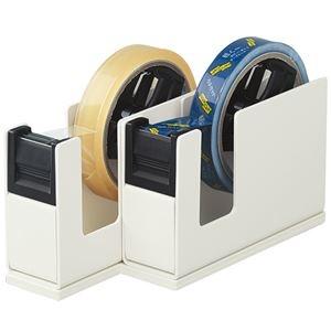 その他 (まとめ) コクヨ テープカッターカルカット(2連タイプ) ライトグレー T-SM110LM 1台 【×5セット】 ds-2221096