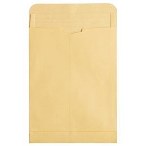 その他 (まとめ) TANOSEE マチ付クラフト大型封筒 角2 120g/m2 1パック(50枚) 【×5セット】 ds-2221344