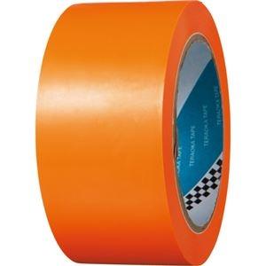 その他 (まとめ) 寺岡製作所 ラインテープ No.340 50mm×20m オレンジ No.340-50X20オレンジ 1巻 【×5セット】 ds-2221422