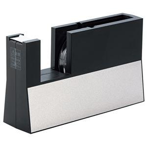 その他 (まとめ) ニチバン テープカッター直線美 大巻用 黒 TC-CB6 1台 【×5セット】 ds-2221424