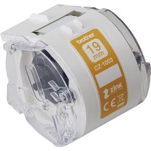 その他 (まとめ) ブラザー 感熱フルカラーラベルプリンターピータッチカラー用ロールカセット 19mm幅×長さ5m CZ-1003 1個 【×5セット】 ds-2221475