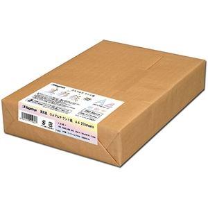 その他 (まとめ) 長門屋商店 OAマルチケント紙 美彩紙 A4 ナ-962V 1パック(250枚) 【×5セット】 ds-2221910
