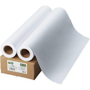 その他 (まとめ) TANOSEE インクジェット用普通紙 A1ロール 594mm×50m 1箱(2本) 【×5セット】 ds-2221918