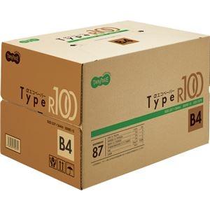 その他 (まとめ) TANOSEE αエコペーパータイプR100 B4 1箱(2500枚:500枚×5冊) 【×5セット】 ds-2222026