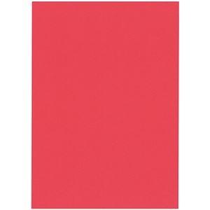 その他 (まとめ) 北越コーポレーション 紀州の色上質A4T目 薄口 赤 1冊(500枚) 【×5セット】 ds-2222028