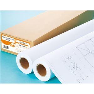 その他 (まとめ) TANOSEE IJプロッタ用再生紙 A1ロール 594mm×50m 1箱(2本) 【×5セット】 ds-2222037