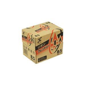 その他 (まとめ) 日本製紙 リボンフレンドリー B5RBNF-B5 1セット(2500枚:500枚×5冊) 【×5セット】 ds-2222100