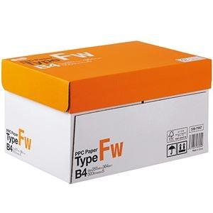 その他 (まとめ) TANOSEE PPC PaperType FW B4 1箱(2500枚:500枚×5冊) 【×5セット】 ds-2222106
