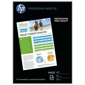 その他 (まとめ) HPプロフェッショナルインクジェット専用紙 A4 Q6593A 1冊(200枚) 【×5セット】 ds-2222146