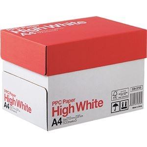 その他 (まとめ) PPC PAPER High WhiteA4 1箱(2500枚:500枚×5冊) 【×5セット】 ds-2222235