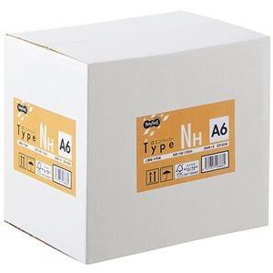 その他 (まとめ) TANOSEE αエコペーパータイプNH A6 1箱(4000枚:500枚×8冊) 【×5セット】 ds-2222243