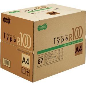 その他 (まとめ) TANOSEE αエコペーパータイプR100 A4 1箱(2500枚:500枚×5冊) 【×5セット】 ds-2222315