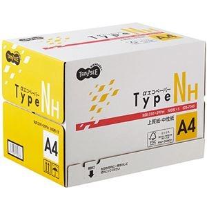 その他 (まとめ) TANOSEE αエコペーパータイプNH A4 1箱(2500枚:500枚×5冊) 【×5セット】 ds-2222341