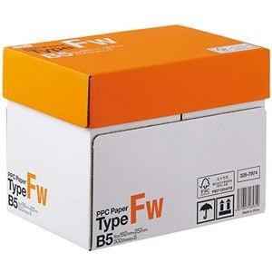 その他 (まとめ) TANOSEE PPC PaperType FW B5 1箱(2500枚:500枚×5冊) 【×5セット】 ds-2222379