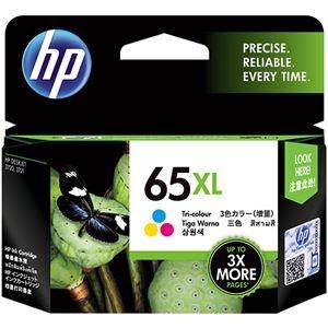 その他 (まとめ) HP HP65XL インクカートリッジカラー(増量) N9K03AA 1個 【×5セット】 ds-2222602