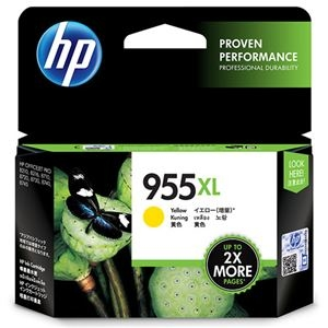 その他 (まとめ) HP HP955XL インクカートリッジイエロー L0S69AA 1個 【×5セット】 ds-2222611