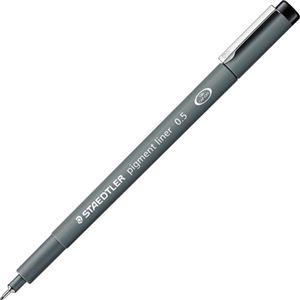 その他 (まとめ) ステッドラー ピグメントライナー0.5mm 黒 308 05-9 1セット(10本) 【×5セット】 ds-2222653