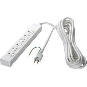 その他 (まとめ) バッファロー 3ピン式電源タップ 6個口タイプ 2m ホワイト BSTAPST3620WH 1個 【×5セット】 ds-2222829