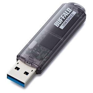 その他 (まとめ) バッファロー USB3.0対応 USBメモリー スタンダードモデル 8GB ブラック RUF3-C8GA-BK 1個 【×5セット】 ds-2222857