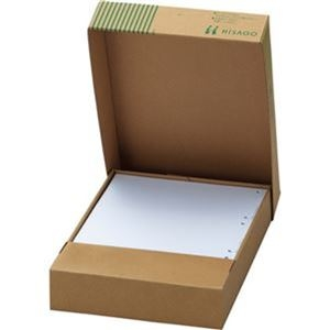 その他 (まとめ) TANOSEEマルチプリンタ帳票(FSC森林認証紙) A4白紙 2面4穴 1箱(500枚) 【×5セット】 ds-2223003