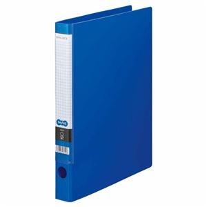 その他 (まとめ) TANOSEE Oリングファイル A4タテ 2穴 170枚収容 背幅35mm ブルー 1セット(10冊) 【×5セット】 ds-2223029