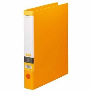 その他 (まとめ) TANOSEE Oリングファイル A4タテ 2穴 250枚収容 背幅44mm オレンジ 1セット(10冊) 【×5セット】 ds-2223124