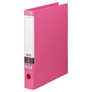 その他 (まとめ) TANOSEE Oリングファイル A4タテ 2穴 250枚収容 背幅44mm ピンク 1セット(10冊) 【×5セット】 ds-2223125