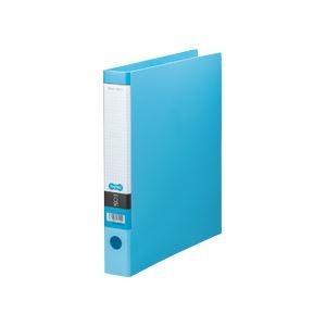 その他 (まとめ) TANOSEE Oリングファイル A4タテ 2穴 250枚収容 背幅44mm ライトブルー 1セット(10冊) 【×5セット】 ds-2223127