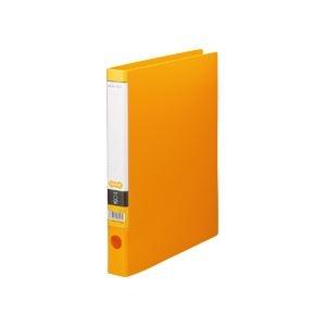 その他 (まとめ) TANOSEE Oリングファイル A4タテ 2穴 170枚収容 背幅35mm オレンジ 1セット(10冊) 【×5セット】 ds-2223139