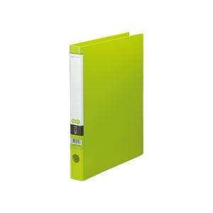その他 (まとめ) TANOSEE Oリングファイル A4タテ 2穴 170枚収容 背幅35mm ライトグリーン 1セット(10冊) 【×5セット】 ds-2223141