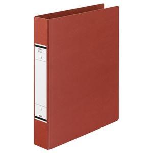 その他 (まとめ) TANOSEE Oリングファイル(紙表紙) A4タテ 2穴 320枚収容 背幅52mm 赤 1セット(10冊) 【×5セット】 ds-2223153
