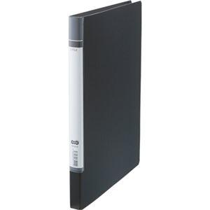 その他 (まとめ) TANOSEE Zファイル(貼り表紙)ロングタイプ 黒 1セット(10冊) 【×5セット】 ds-2223338