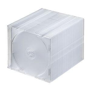 その他 (まとめ) サンワサプライBlu-ray・DVD・CDケース(スリムタイプ) クリア FCD-PU30CL 1パック(30枚) 【×10セット】 ds-2224368