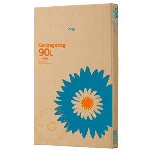 その他 TANOSEE ゴミ袋 半透明 90L 110枚BOX 【×10セット】 ds-2225457