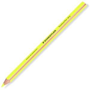 その他 (まとめ) ステッドラー テキストサーファー ドライ蛍光色鉛筆(太軸) ネオンイエロー 128 64-1 1セット(12本) 【×10セット】 ds-2225914